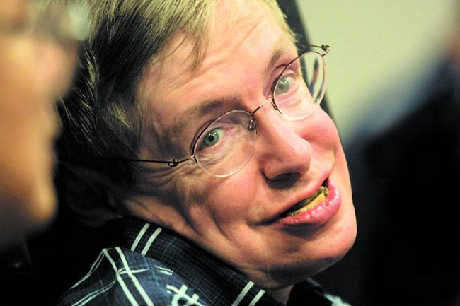 citations inspirantes de Stephen Hawking
