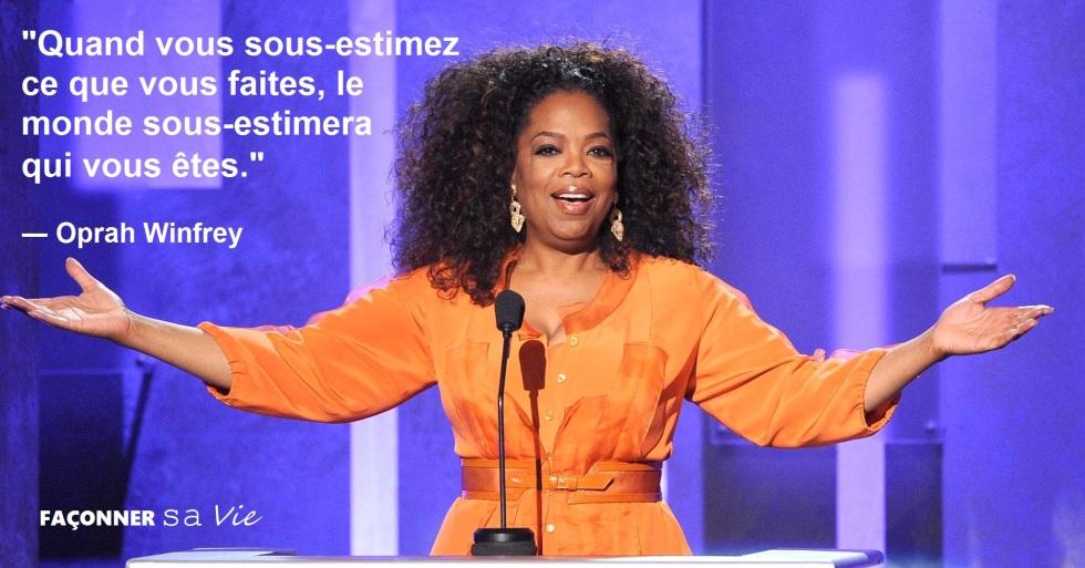 Top 10 des citations inspirantes d'Oprah Winfrey qui vous rendront plus fort faconner sa vie développement personnel coaching gagnant bonheur positivité
