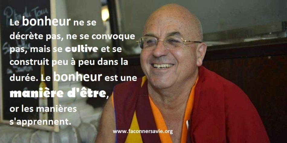 citations inspirantes de Mathieu Ricard, l'homme le plus heureux sur Terre faconner sa vie développement personnel