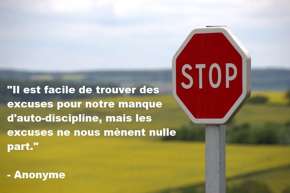 15 citations inspirantes au sujet de l'auto-discipline. faconner sa vie. coaching. developpement personnel. réaliser rêves. Se muscler gagner. réussir zen stop